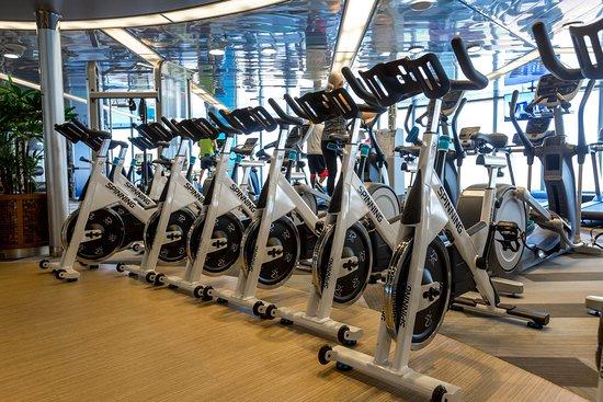 Fitness Center on Zuiderdam