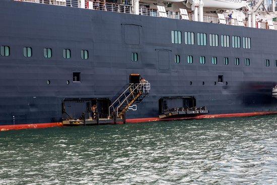 Ship Exterior on Zuiderdam