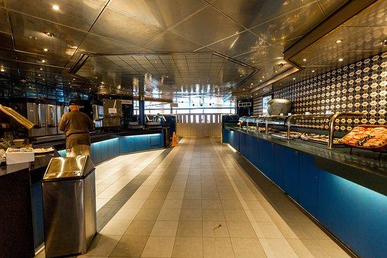 Lido Restaurant on Zuiderdam