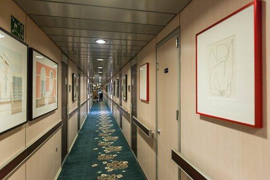 Hallways on Grand Celebration