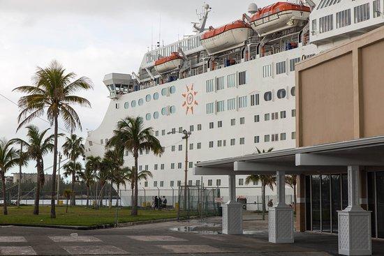 Ship Exterior on Grand Celebration