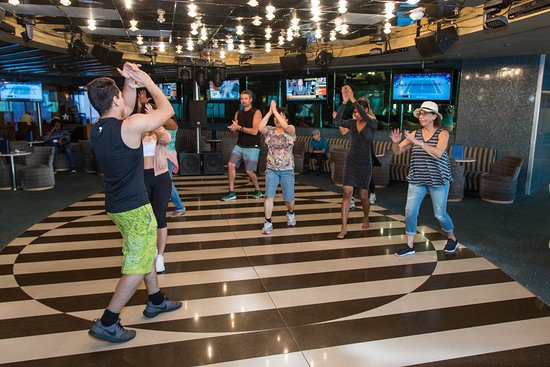 Zumba Classes in Voltage Night Club on Grand Celebration