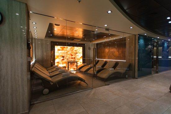 The Aurea Spa Salt Room on MSC Meraviglia