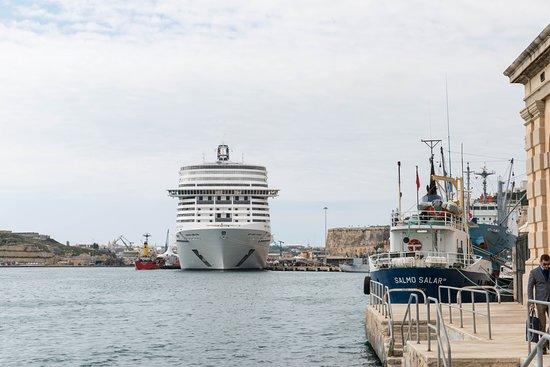 Ship Exterior on MSC Meraviglia