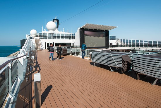 Sun Decks on MSC Meraviglia