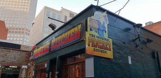 Original Pancake Kitchen Adelaide outside signage