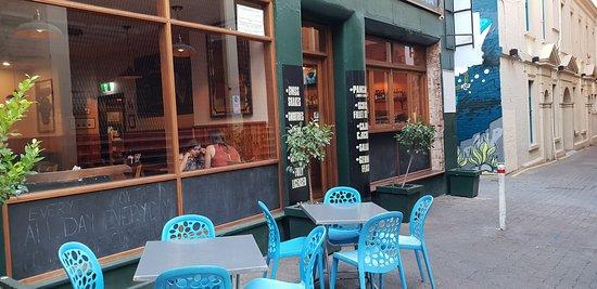 Original Pancake Kitchen Adelaide streetside eating