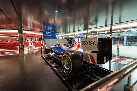 F1 Simulator on MSC Meraviglia