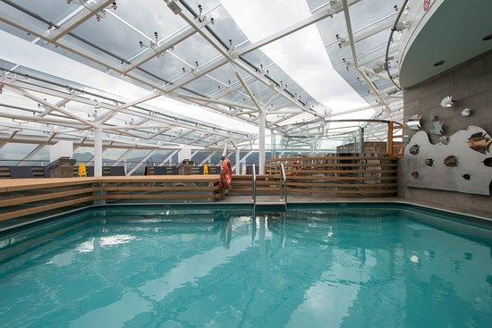Yacht Club Pool on MSC Meraviglia