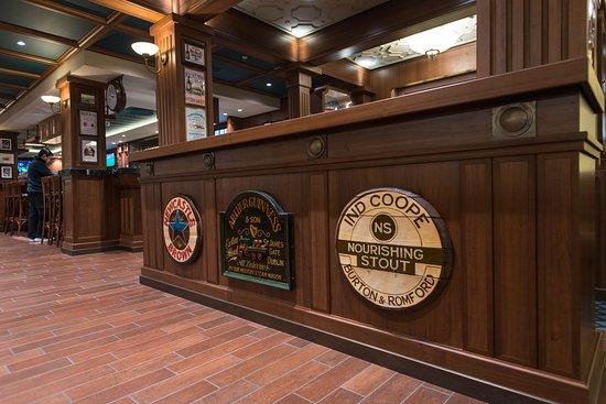 Brass Anchor Pub on MSC Meraviglia