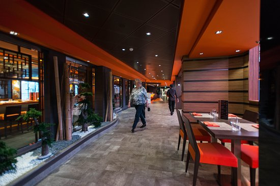 Kaito Teppanyaki & Sushi Bar on MSC Meraviglia