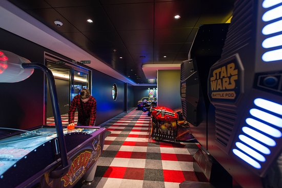 Video Arcade on MSC Meraviglia