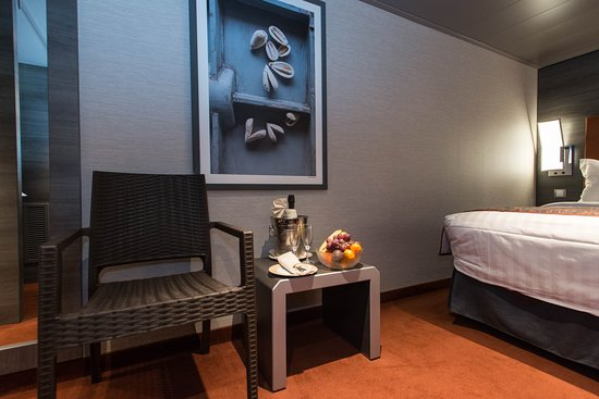 The MSC Yacht Club Interior Suite on MSC Meraviglia