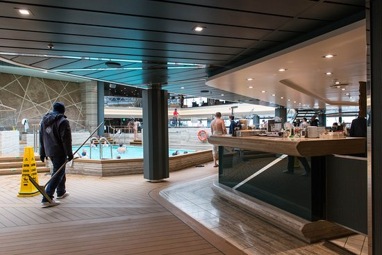 Bamboo Pool on MSC Meraviglia