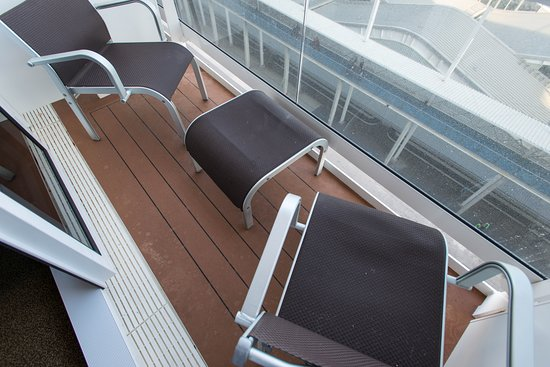 The Balcony Cabin on MSC Meraviglia