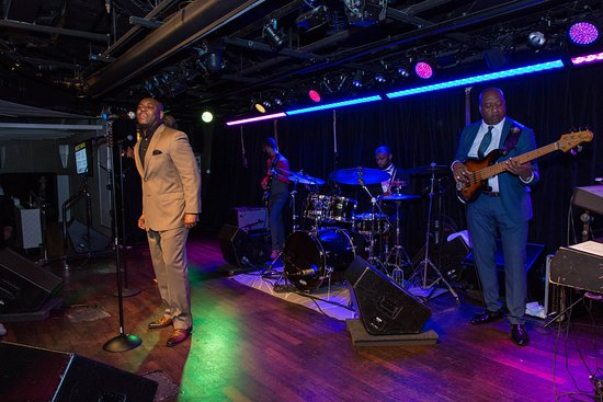 B.B. King's Blues Club in the Queen's Lounge on Nieuw Amsterdam