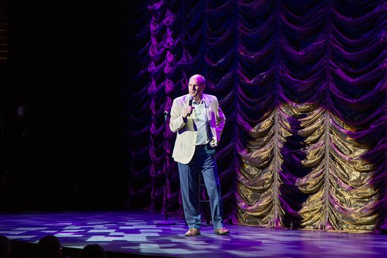 Stand-Up Comedy at The Main Stage on Nieuw Amsterdam