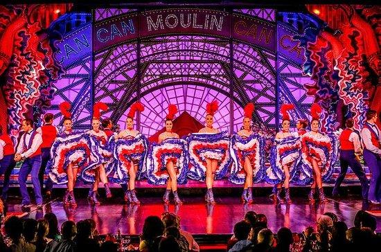 Paris: dîner et spectacle au Moulin...