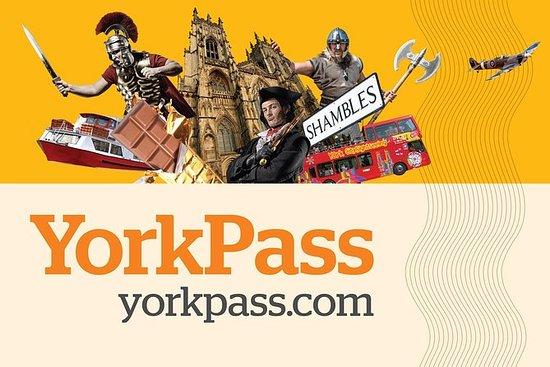 York Pass incluant un circuit en bus...