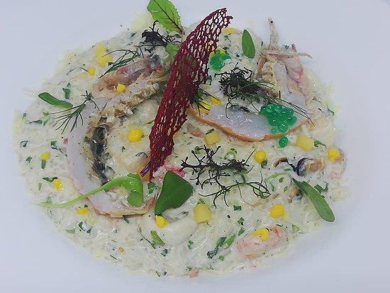 Sea food risotto 🦑