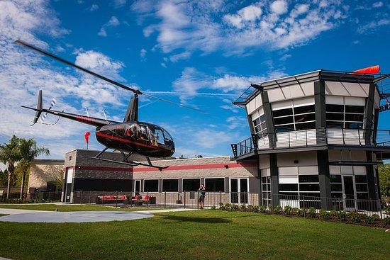 Helikoptertur fra International...