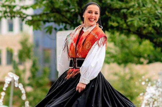 Tradisjonell slovensk middag og show