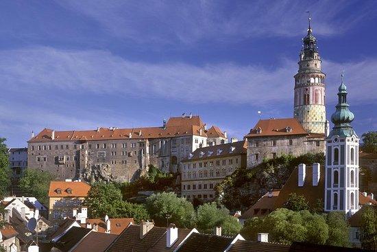 布拉格一日游捷克克鲁姆洛夫与历史悠久的市中心徒步游和捷克克鲁姆洛夫城堡