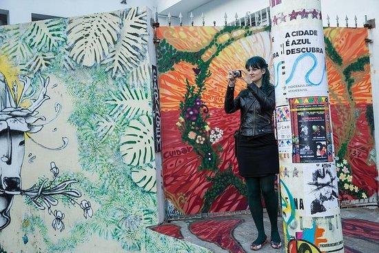 艺术,时尚和建筑趋势圣保罗徒步之旅