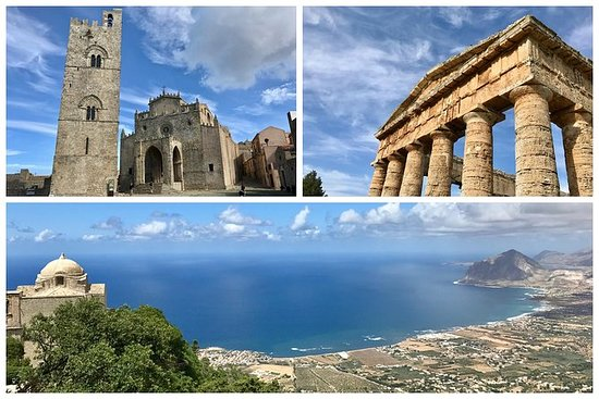 私人Segesta,埃里塞,盐田 - 从特拉帕尼出发的当地导游游览