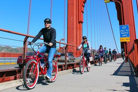 Sykkel Golden Gate Bridge og Shuttle...