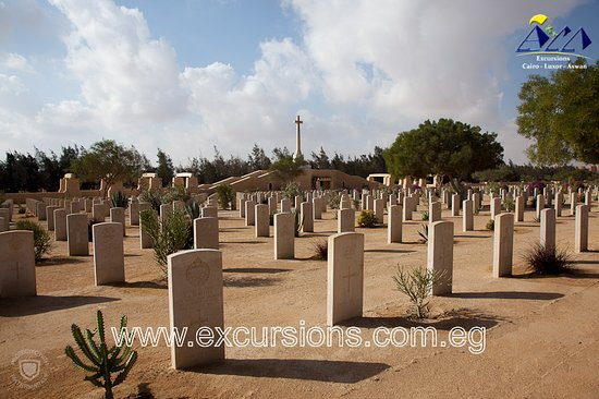 Al Alamayn, Египет: During this day tour your will travel west to Alamein to see the memorial cemetery from this famous battle. Returning to Alexandria you will visit the Kom el Shoqafa tombs, Qaitbey Citadel http://www.excursions.com.eg/Egypt/Excursion/Day_Tour_to_Alamein_and_Alexandria?cog=95