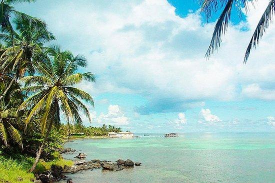 Corn Island the big island in the...
