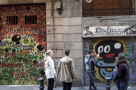 La historia de Barcelona .. Arte callejero!: The story of Street Art in Barcelona