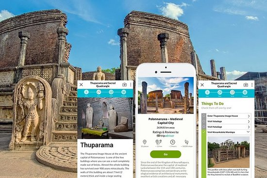 Selv guidet tur: Polonnaruwa (UNESCO...