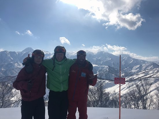 Myoko, Giappone: Anthony Proietti is the king!