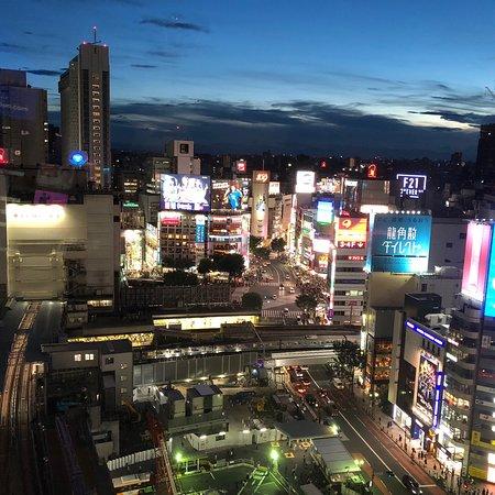 Shibuya Hikarie Sky Lobby