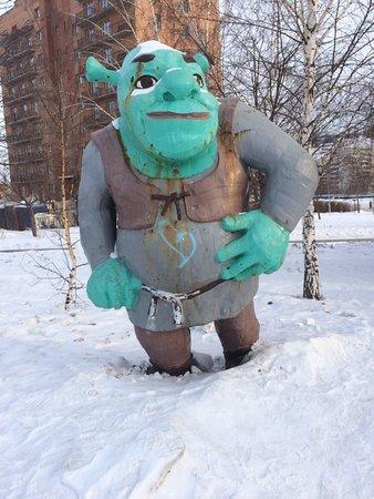 Shrek Sculpture