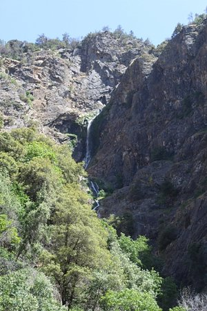 Waterfalls on Kings Canyon Highway