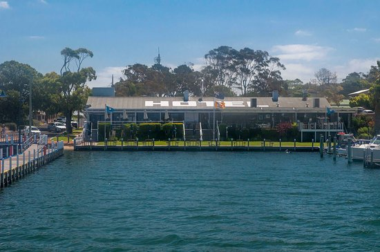 View from the water - Picture of Metung Hotel, Metung - TripAdvisor