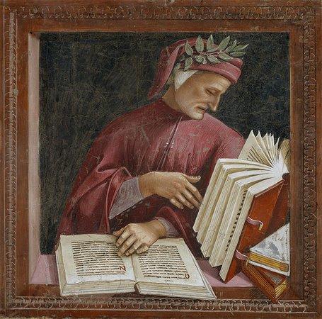 Monterosi, Italy: Nella nostra recensione appare anche un molto immaginario florentin poeta, l'Alighieri mentre consulta... il menù di Why not!