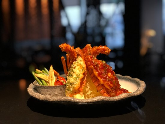 Toki Restaurant: February 2019 Special - Duo Baked Lobster with Butter Garlic and Soya Bean Chili Sauce