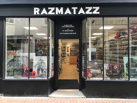Razmatazz Geek Merchandise