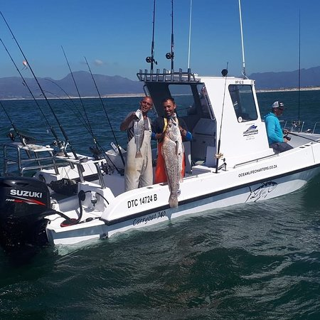 Cape Town, South Africa: Inshore trip Catching Kob