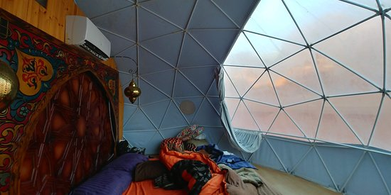 A night under the stars a Mars