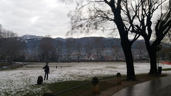 Province of Bergamo, Italie : Bergamo cidade bonita e maravilhosa com neve!!
