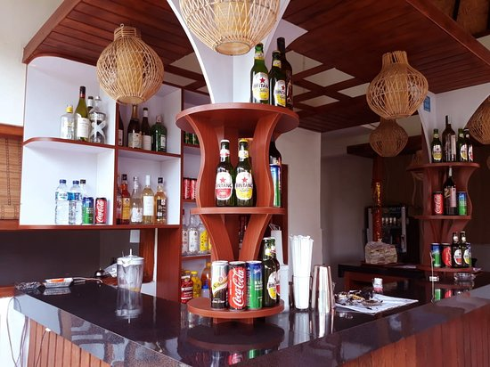 Bar serve for Soft Drink, Cocktail, and Wisky