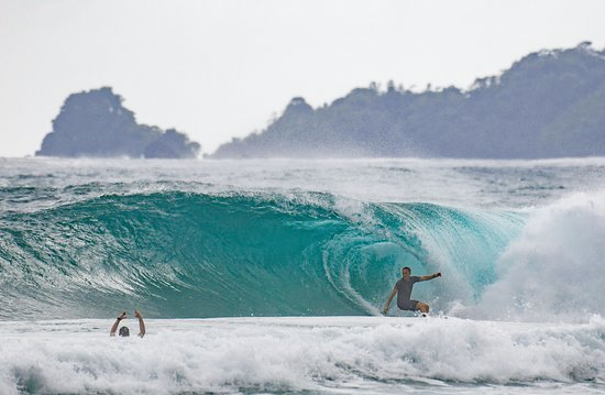 Red Frog Bungalows Surf Guides delivering us to the goods at one of Bocas Del Toro's best kept secrets...