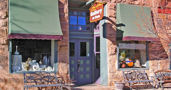 La Veta, CO: We're in this lovely old stone building -- right on Main St.