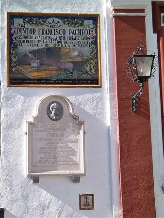Placa al pintor Francisco Pacheco