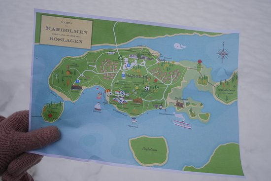 Karta Over Omradet Picture Of Marholmen Norrtalje Tripadvisor